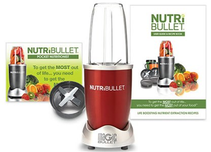 Extraktor NutriBullet Red 600 - set 5 ks - Extraktor NutriBullet Red 600 - set 5 ks