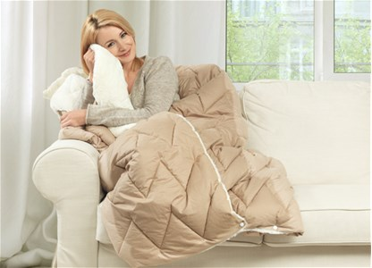 Dormeo Warm and Cozy Blanket Foldable - Patura pliabila 200x200 Dormeo Warm and Cozy